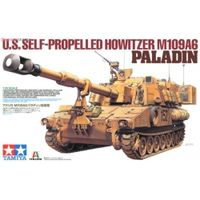 M109A6 Paladin (2 фигуры), сборная модель 1/35 TAMIYA 37012