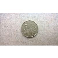Польша 5 грошей, 2007г. (D-16)