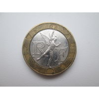 Франция. 10 франков 1989. 18