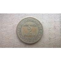 Франция 2 франка, 1923г. (D-21)