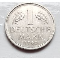 "Германия 1 марка, 1990 ""D"" - Мюнхен 1-2-25"