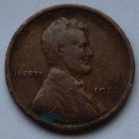 США, 1 цент 1920 г