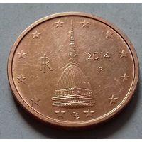 2 евроцента, Италия 2014 г.