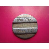 Телефонный жетон  Молдова