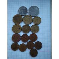 Монеты Латвии.