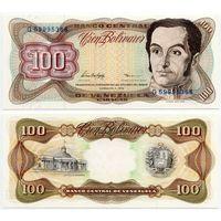 Венесуэла. 100 боливаров (образца 05.02.1998 года, P66f, UNC)