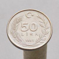 Турция 50 лир 1985