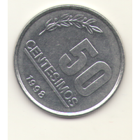 50 сентисимо 1998 г.