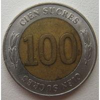 Эквадор 100 сукре 1997 г. (u)