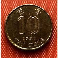 110-24 Гонконг, 10 центов 1998 г.