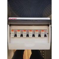 Блок с автоматами ДА8-1P+N