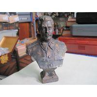 Бюст Сталина оригинальный, бронза, 12,5 см, 1947 г.