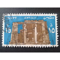 Египет 1985 древняя архитектура