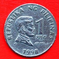 34-32 Филиппины, 1 песо 1998 г.