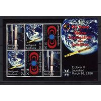 2008 Антигуа и Барбуда. 50 лет космическим исследованиям и спутникам