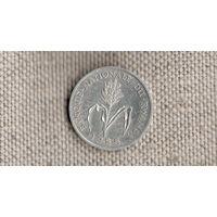 Руанда 1 франк 1985 /флора//(JN)