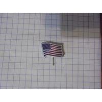 """Значок """" Флаг США"""""""