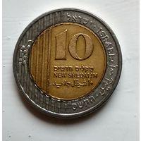 Израиль 10 новых шекелей, 2006  2-13-8