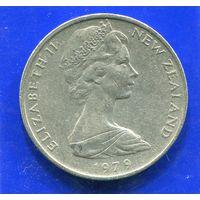 Новая Зеландия 20 центов 1979