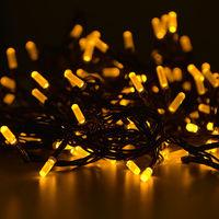 Новый Год! LED Гирлянда ''Палочки'', НОВИНКА, Черный провод