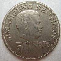 Филиппины 50 сентимо 1974 г. (d)
