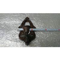 Рама для зеркала с подсвечником,метал.ссср
