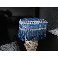 Тюбитейка Узбекская женская ( фестивальная -праздничная )ручная работа