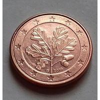 1 евроцент, Германия 2010 G, AU