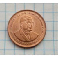 Маврикий 5 центов 2007г.