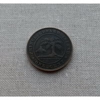 Остров принца Эдуарда, 1 цент 1871 г., королева Виктория (1837-1901)