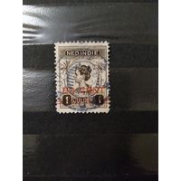 1921 Голландская колония Ост-Индия королева фауна концовка серии (4-7)