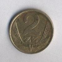Польша, 2 злотых 1985 г.