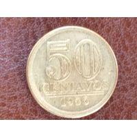 50 сентаво 1956 Бразилия