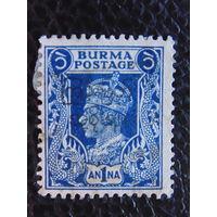 Британская колония Бирма. Георг.