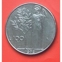 23-15 Италия, 100 лир 1978 г.
