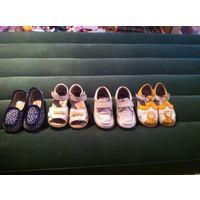 Обувь детская 21-27 размер нат кожа