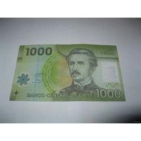 Чили 1000 песо 2010 года