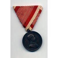 Медаль За Храбрость бронза Франца-Иосифа 1 WW1 Оригинал