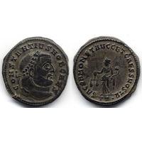Фоллис 300-303, Констанций I (цезарь), ТТ - Тицинум. Красивое коллекционное состояние