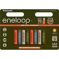 Аккумуляторы AAA Panasonic Eneloop Expedition BK-4MCCE 800mAh 8шт (ограниченная серия)