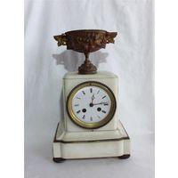 Часы каминные Братья Жапи Часы настольные Подчасник Франция JAPY FRERES 1850 год Под реставрацию