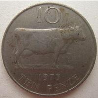 Гернси 10 пенсов 1979 г. (gl)