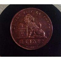 2 сантима 1836 Бельгия