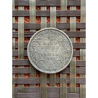 Британская Индия 1/2 рупии 1862 г., редкость