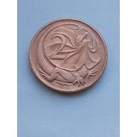 Австралия 2 цента 1975