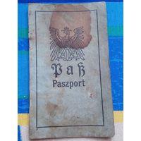Паспорт Белосток 1916 год.
