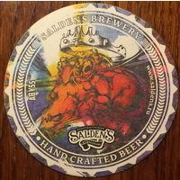 Подставка под пиво Saldens Brewery Hand Crafted Beer No 2