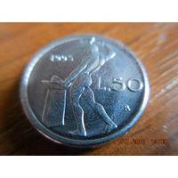 50 лир, Италия, 1993 г.