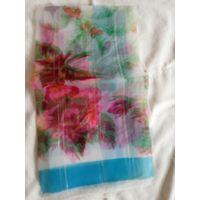 Платки капроновые с цветами