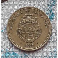 Коста-Рика 100 колон 2000 года. Миллениум. Инвестируй в историю! RR
